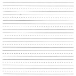 Blank Hand Writing Sheet | Handwriting Practice Sheets, Free