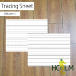 Blank Tracing Sheet, I Can Write My Name, Tracing, Practice