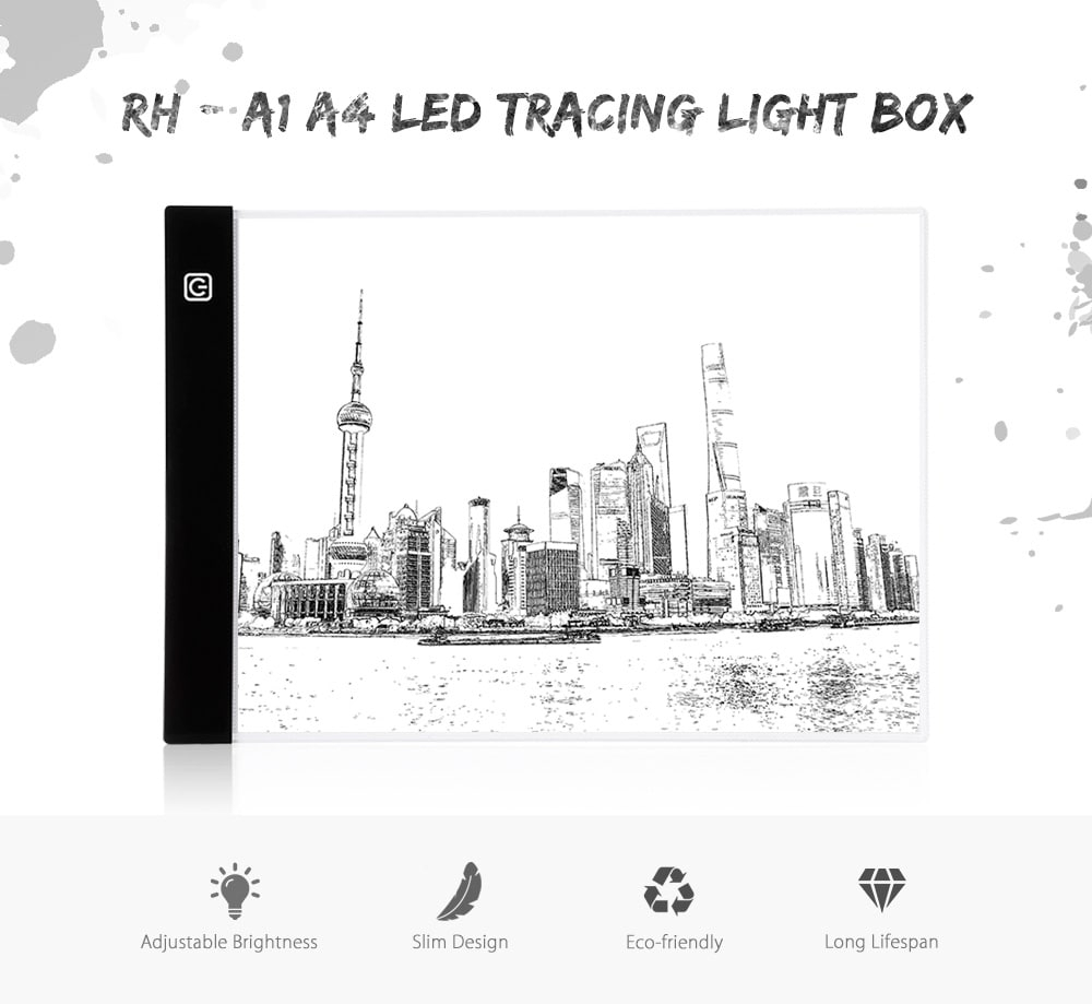 Buy Rh - A1 A4 Led Tracing Light Box - In Stock Ships Today!