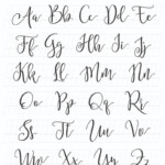 Calligraphy Alphabets: What Are Lettering Styles? + Free