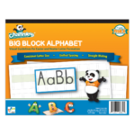 Channie'S Beginner'S Visual Alphabets & Numbers Learning & Tracing  Workbooks, 3 Pack. Prek -K