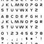 "Characters: Nasalization Font (Nasa ""worm"" Font) | Space"