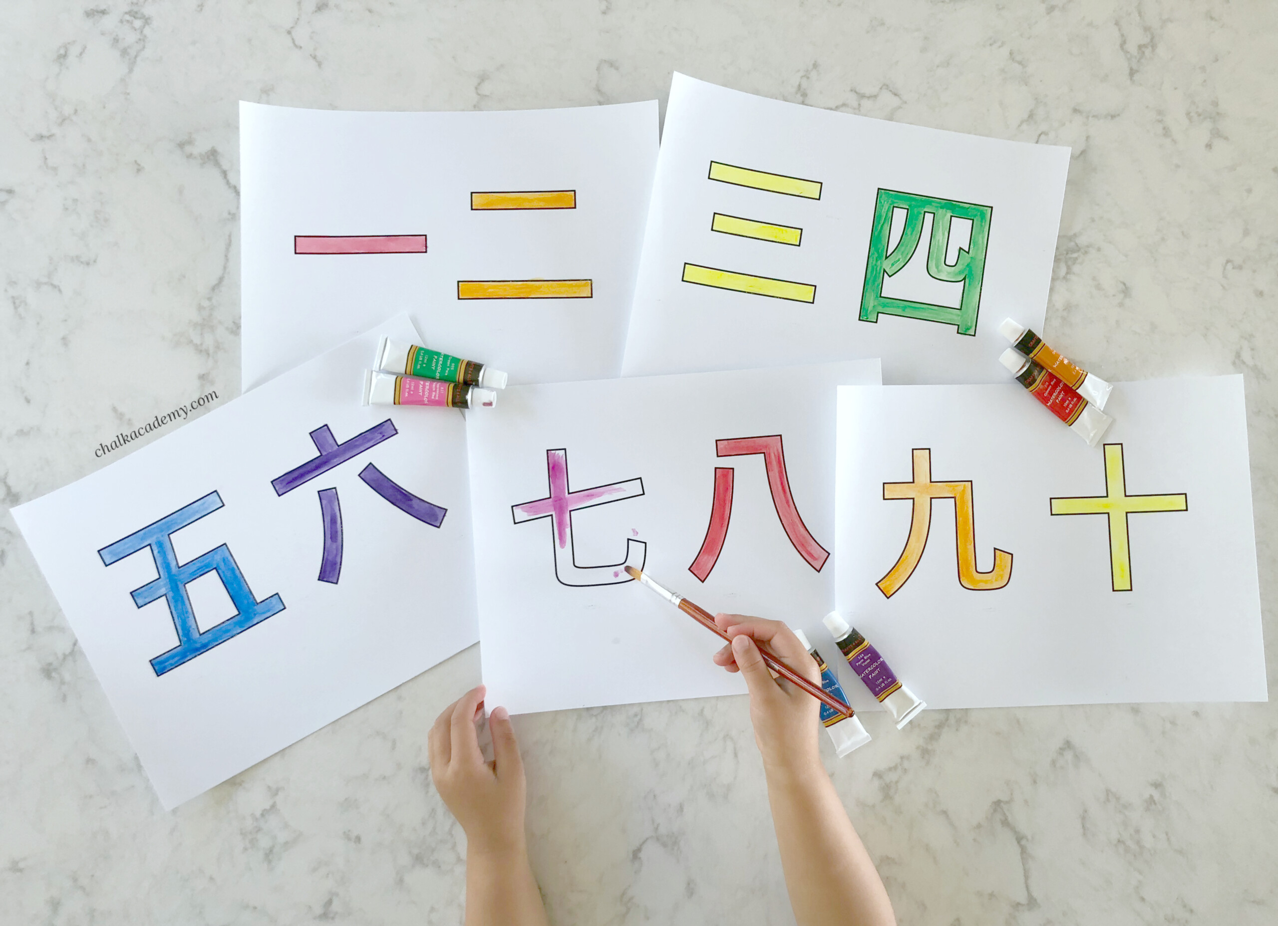 Chinese Characters For Kids - Teaching Simple Chinese Characters