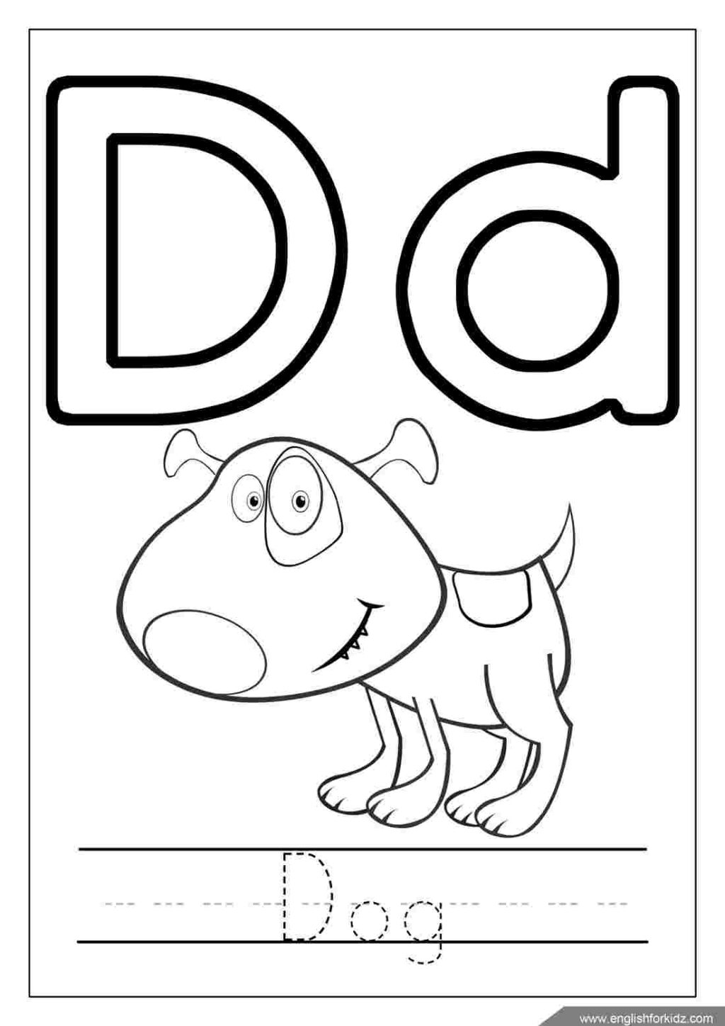 Coloring Book ~ Letter Coloring Pages Freeable Alphabet For