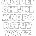 Coloring Letters Generator | Alphabet Templates, Coloring