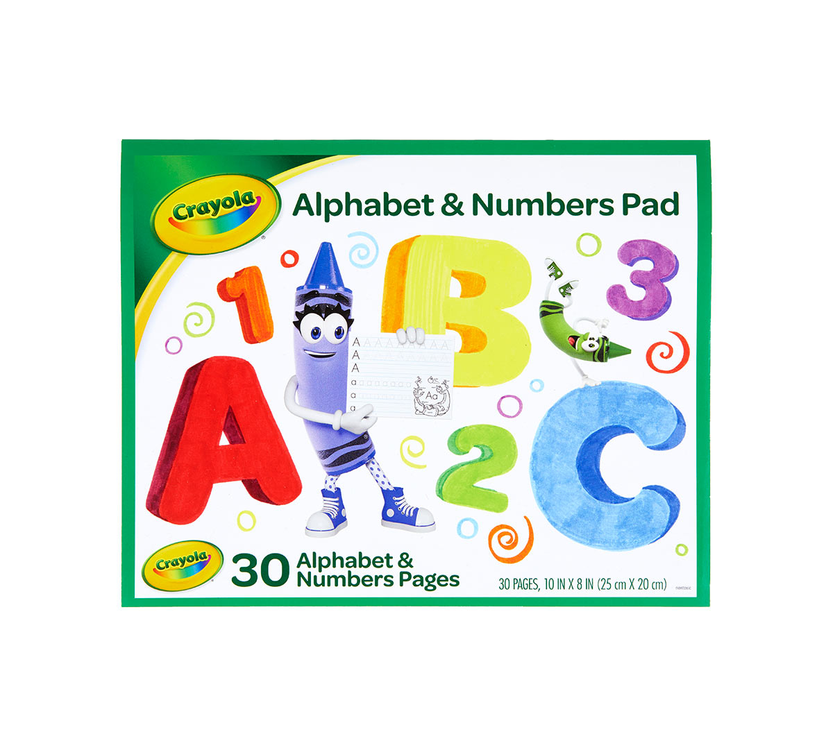 Crayola Letter And Number Tracing Worksheets, 30 Pages | Crayola |  Crayola