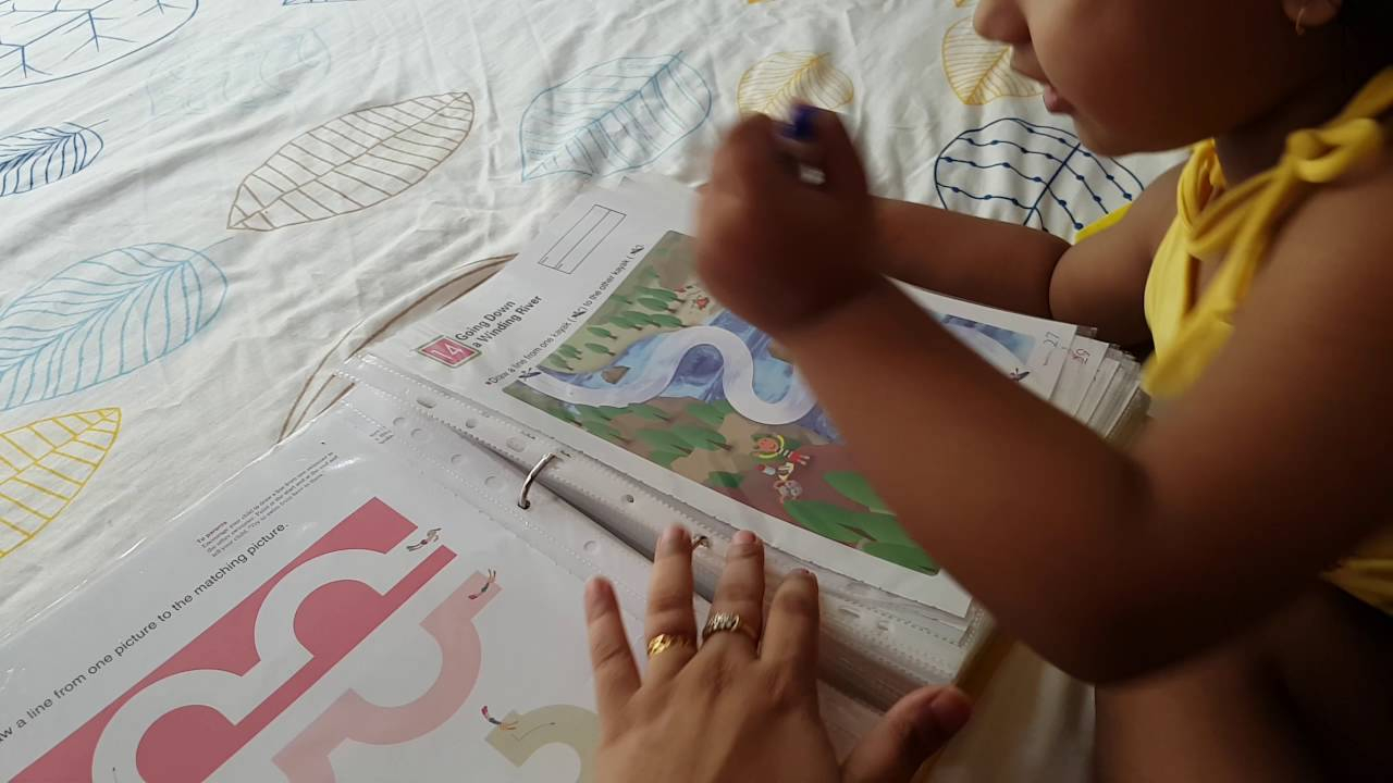 Dea Prewriting Activity- Kumon My First Book Of Tracing