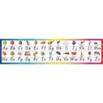 Desk Strips Qld Alphabet