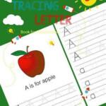 Details About Letter Tracing Book For Preschoolers Handwriting Workbook Pr Jk Studio Kids