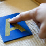 Diy Montessori Sand Writing Tray With Free Printable Letter