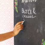 Diy Perfect Chalkboard Lettering   Damask Love