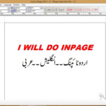 Do Type In Urdu And Arabic In Inpage Or Ms Wordasadza