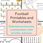 Download These Free Football-Themed Printables And