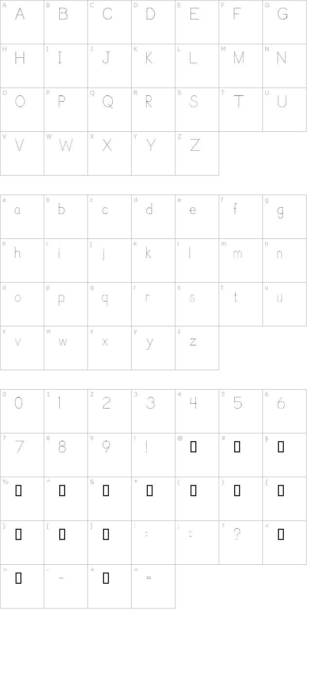 Download Trace Font For Kids Font - Free Font Download