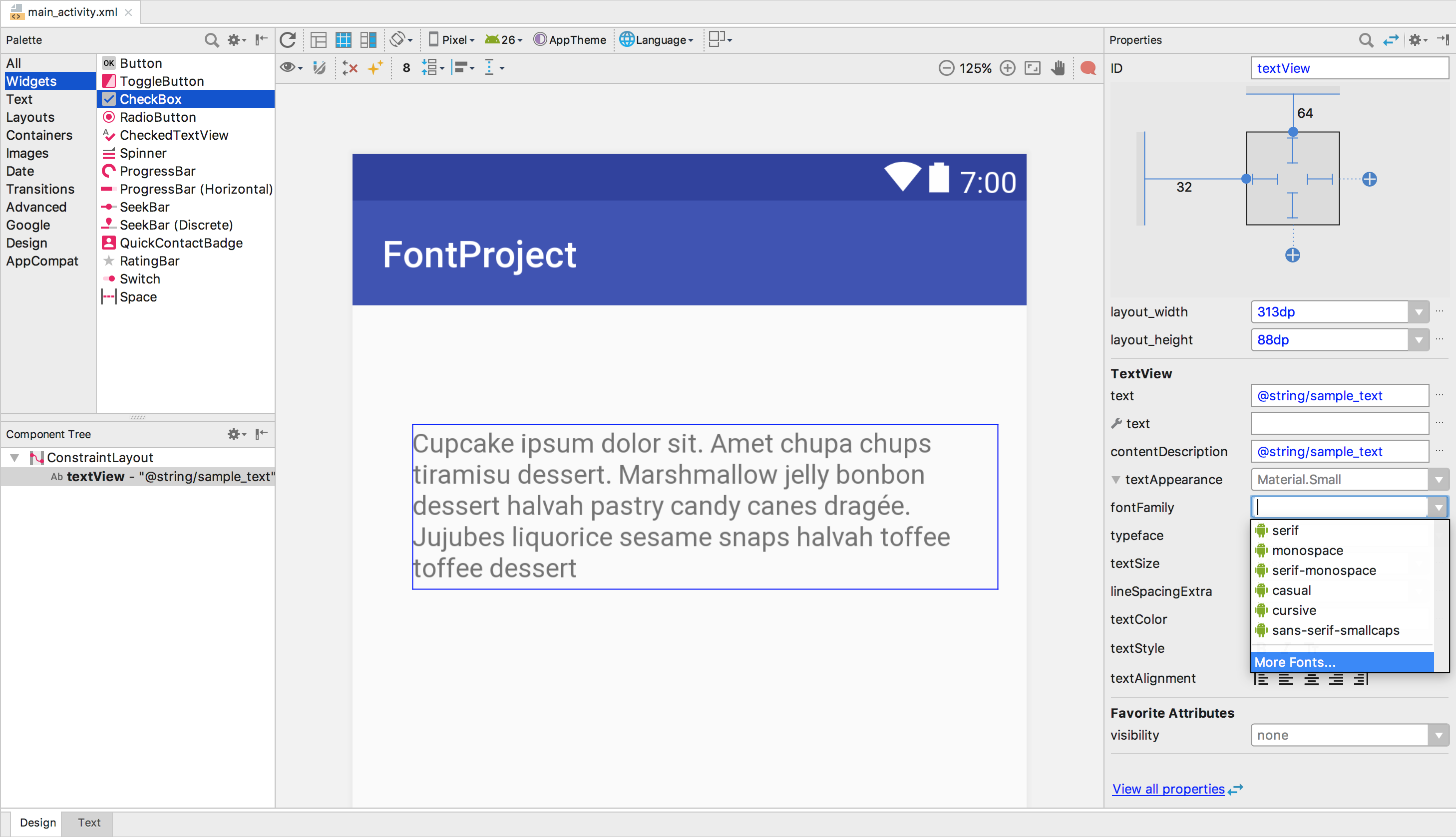 Downloadable Fonts | Android Developers