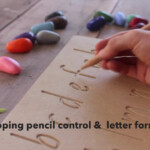 Draw And Explore Activity Bags Featuring Countnatures Lowercase  Alphabet Tracing Board