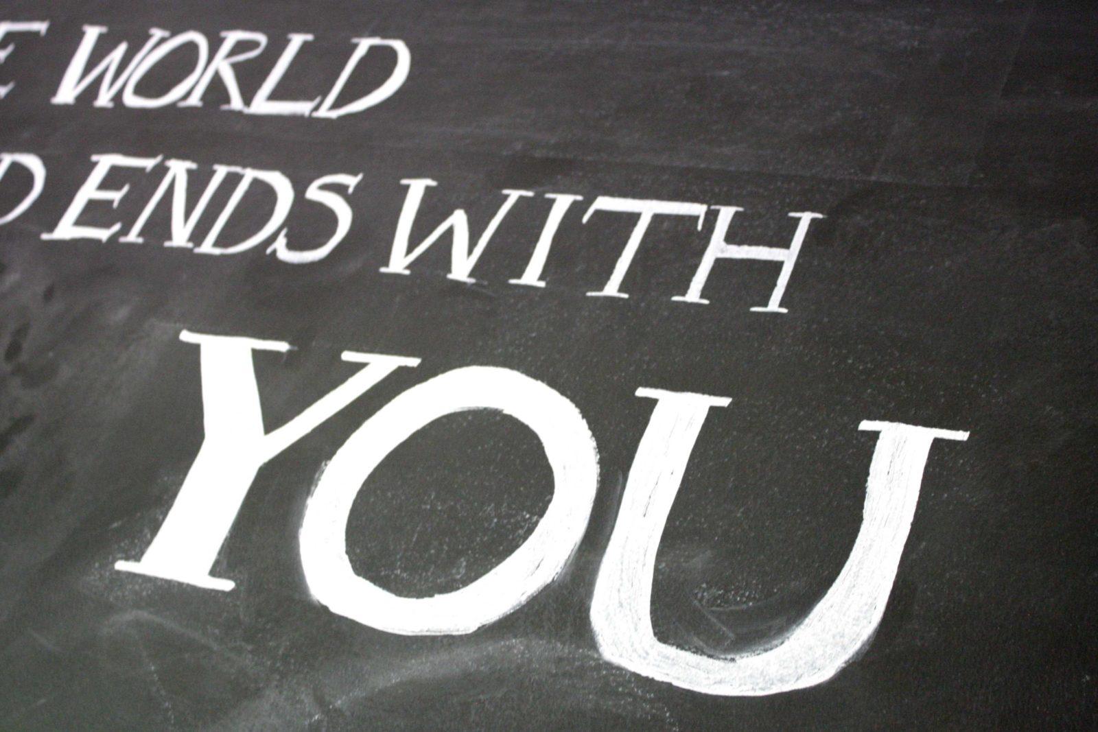 Easiest Diy Chalkboard Lettering Tutorial Ever