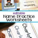 Easy, Printable Name Practice Worksheets | Writing Practice