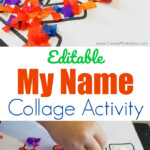 Editable My Name Collage Activity - Create Printables