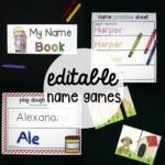 Editable Name Games