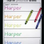 Editable Name Games | Name Writing Practice, Preschool Names