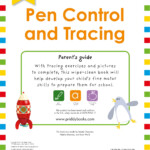Enclosed Spiral Binding Wipe Clean Workbook Pen Control And