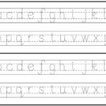 English Alphabet Worksheet For Kindergarten | Alphabet