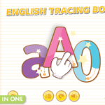 English Tracing Book Package – Indie Studio