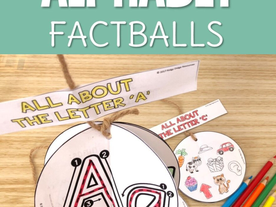 Factballs Are A Unique Craftivity That Not Only Create A