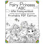 Fairy Princess Abc Letter Tracing Workbook – Printable Pdf