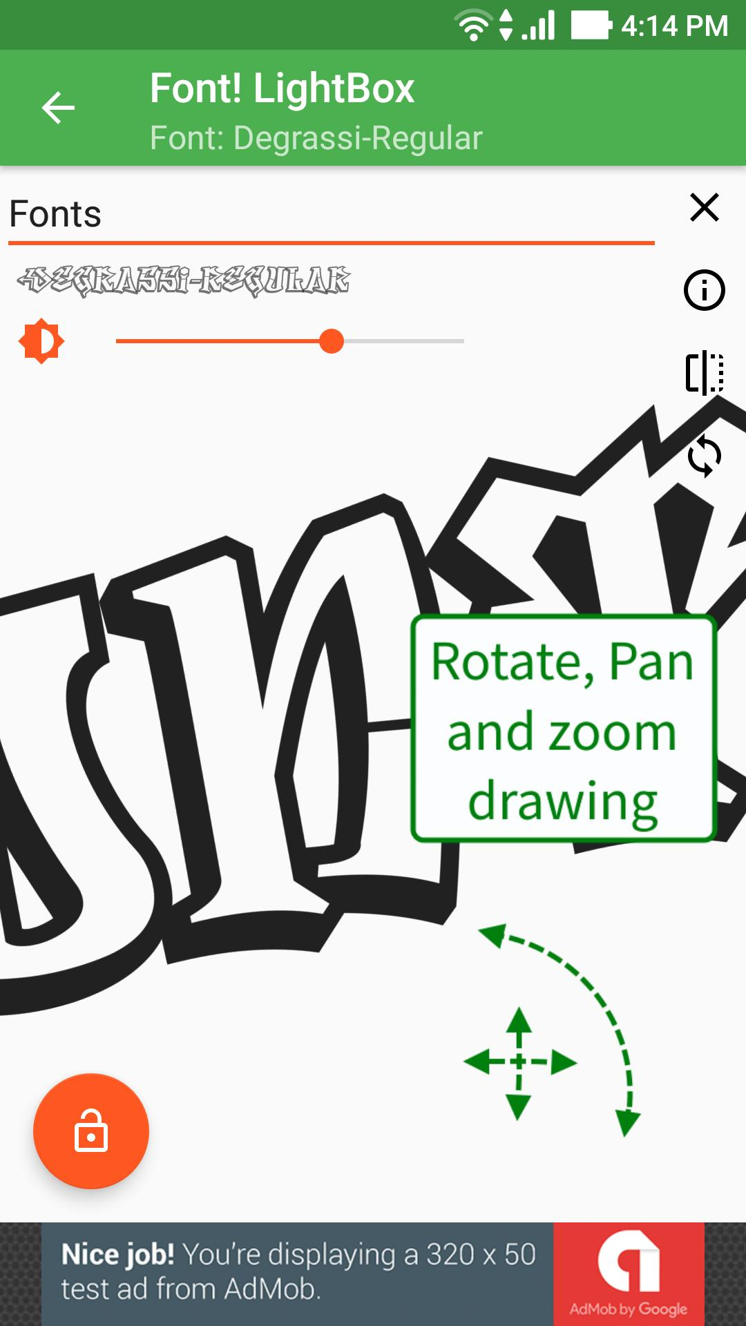 Font! Lightbox Tracing App For Android - Apk Download