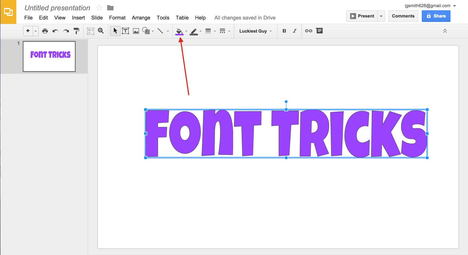 Font Tricks   The Techie Teacher®