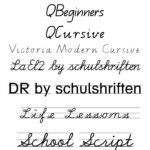 Fonts To Help Kids To Write + Qld Cursive | Teaching Cursive