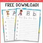 Free Abc Workbook! This Is A Great Free Alphabet Preschool