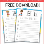 Free Abc Workbook! This Is A Great Free Alphabet Preschool