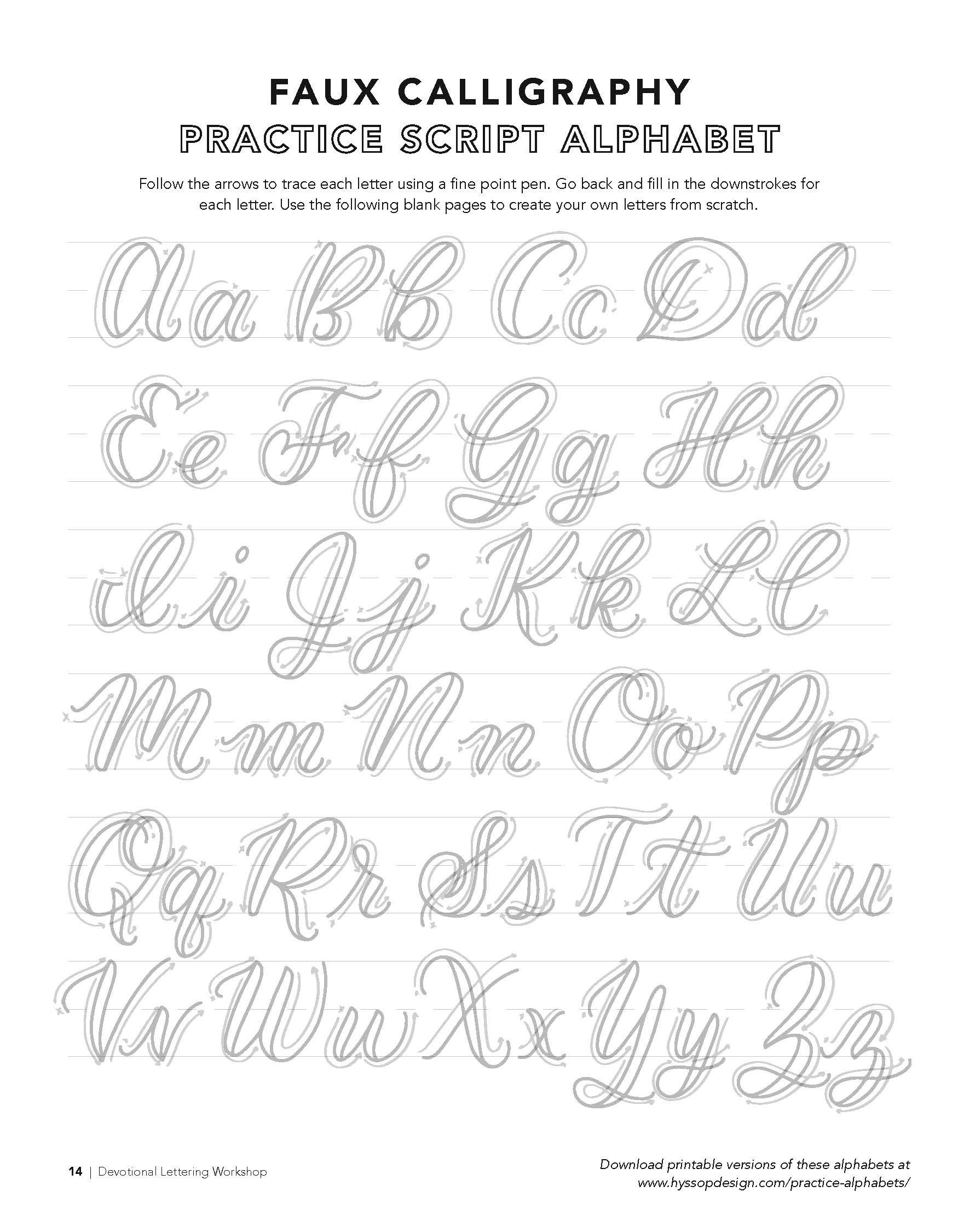 Free Calligraphy Alphabets — Jacy Corral   Hand Lettering