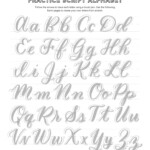 Free Calligraphy Alphabets — Jacy Corral | Hyssop Design
