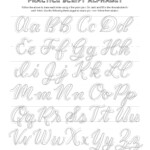 Free Calligraphy Alphabets — Jacy Corral (With Images