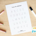 Free Name And Alphabet Tracing Mat | My Party Design