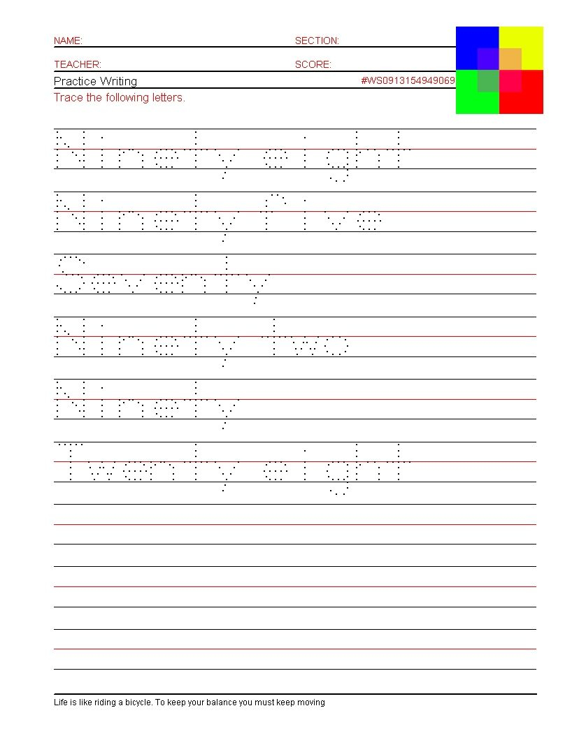 Free Name Handwriting Worksheets Pictures - Activities Free