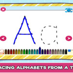Free Online Alphabet Tracing Game For Kids - The Learning Apps