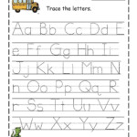 Free Preschool Printables | Alphabet Tracing Worksheets