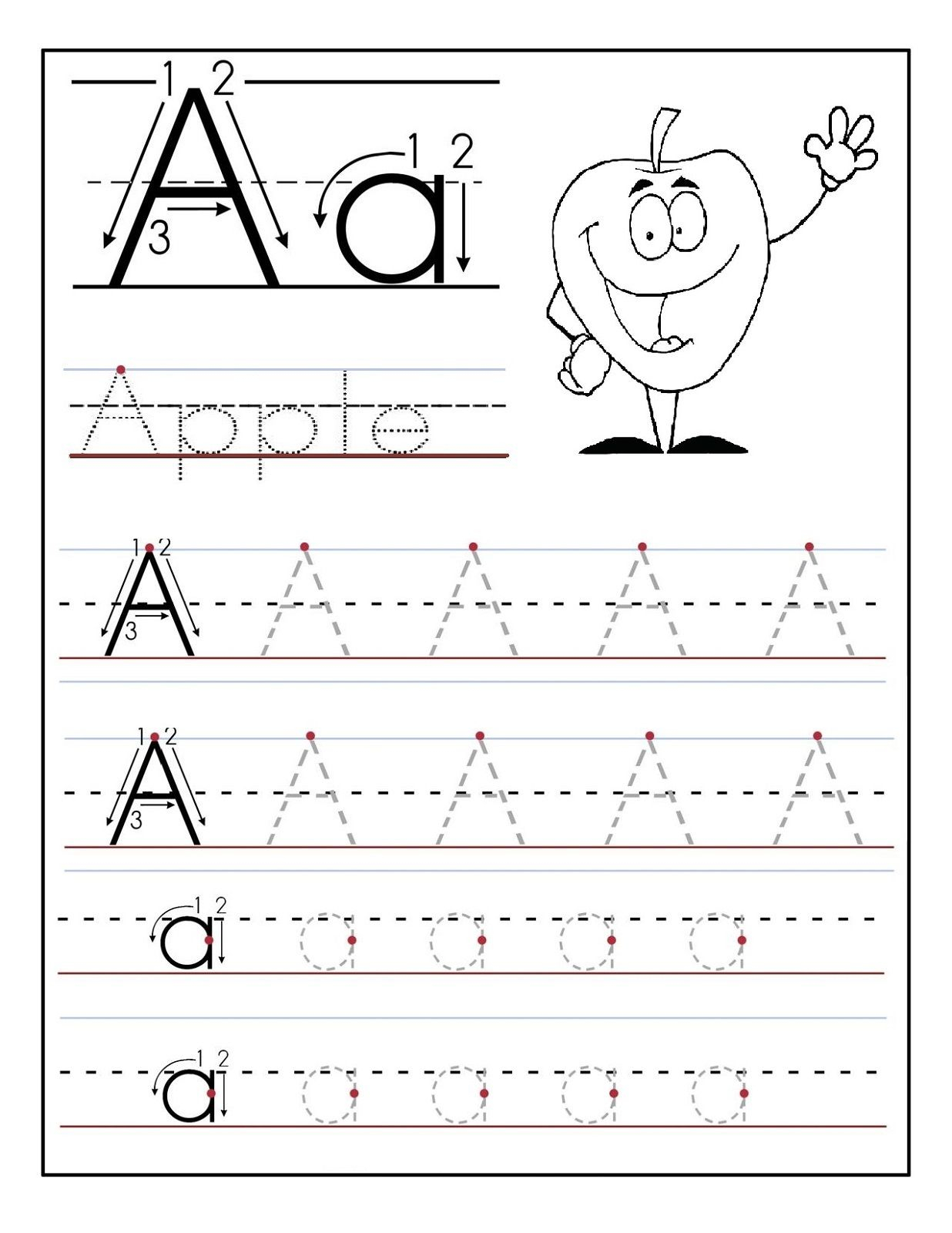 Free Preschool Printables In 2020 (With Images) | Tracing