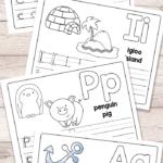 Free Printable Alphabet Book - Alphabet Worksheets For Pre-K