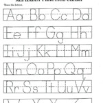 Free Printable Preschool Letter Tracing Worksheets - Clover