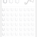 Free Printable Tracing Letter U Worksheets Preschool