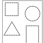 Free Shape Tracing Worksheets Pictures - Activities Free