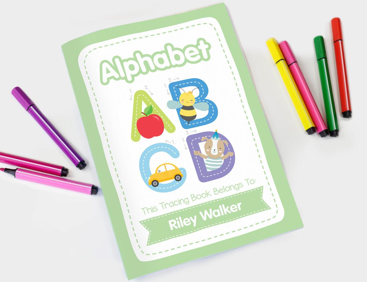 Free Templates- Abc Tracing Printable - Bright Star Kids
