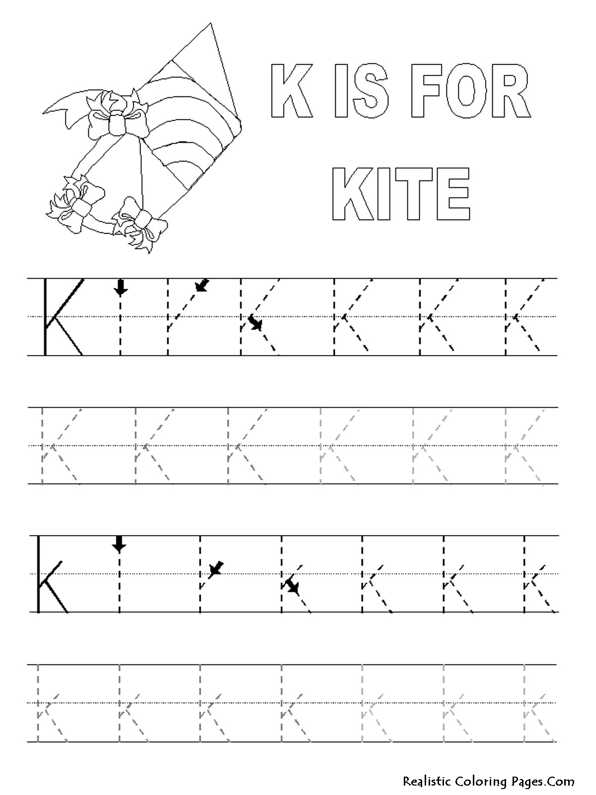 Great Abc Tracing Coloring Pages #4476 Abc Tracing Coloring