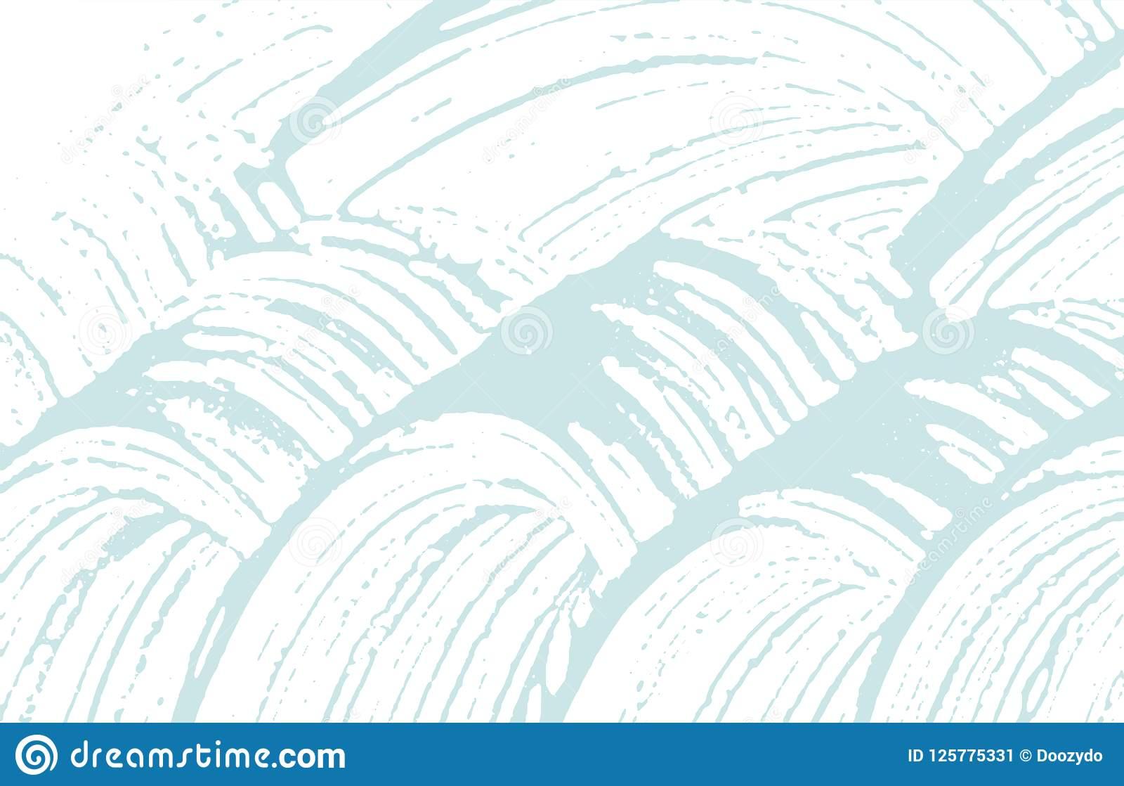 Grunge Texture. Distress Blue Rough Trace. Bold Background